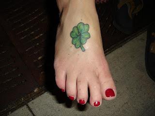 tattoos trevo irlanda