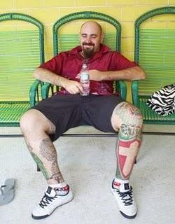 símbolo palmeiras tattoo