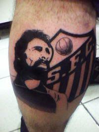 santos tatuagem