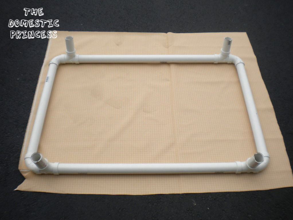 736x716 736 x 716 jpeg 72kb diy pvc dog bed dog bed ideas pinterest ...