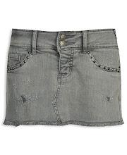 Mini jean gris tachas