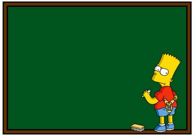 Frases de bart en la pizarra - Bart simpson nu ...