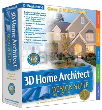 Home Design Architecture Software on 3d Home Architect Designer Suite Deluxe 8 2 50 C5 404