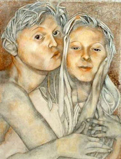 Portrait of Alexander and Charlotte - 2003