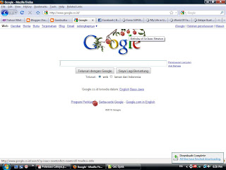 mengubah Tampilan Google