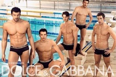 Los Nadadores Italianos y Dolce & Gabbana