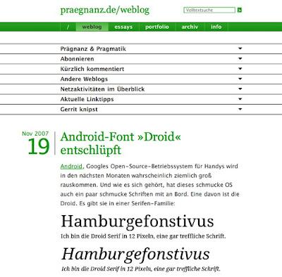 Gerrit van Aaken, Excellent Blog Designs
