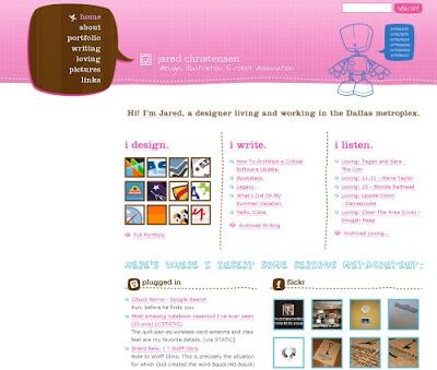 Jared Christensen, Excellent Blog Designs