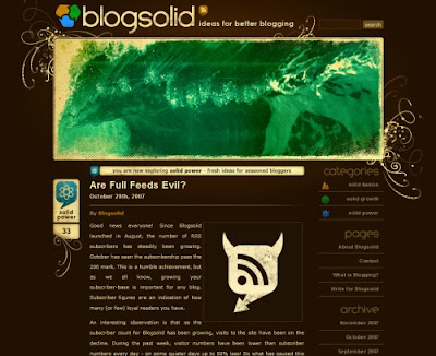 Blogsolid, Excellent Blog Designs