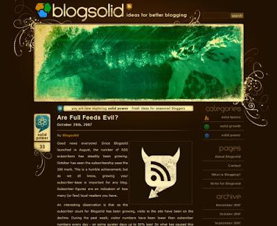 Blogsolid, Excellent Blog Designs