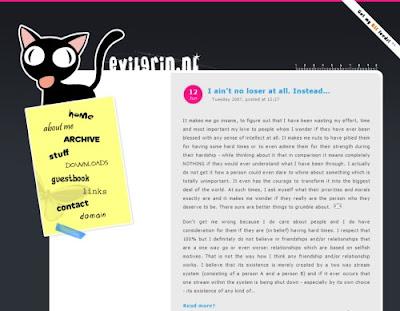 Victoria van Roosmalen, Excellent Blog Designs