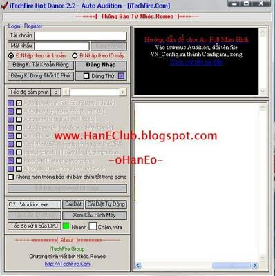 iTechFire Hot Dance 2.2, Auto Audition, Cheat PF Audition, Cheat PF Ayodance