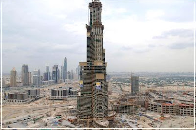 Burj Dubai At 95 Floors, Burj Dubai, 95 Floors, Floors, 95, Ninety Five