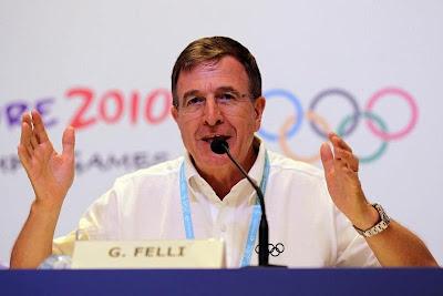 Gilbert Felli, IOC Olympic Games Executive Director
