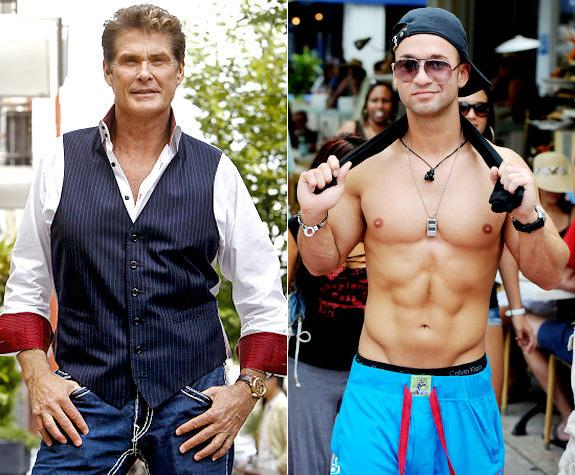 Dancing with the Stars, David Hasselhoff, Mike Sorrentino, The Situation