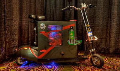 Scooter Computer Case