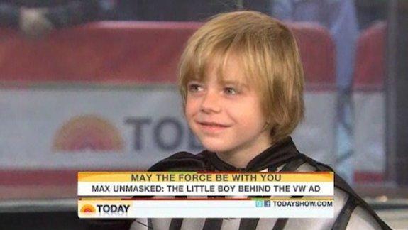 Max Page, Darth Vader