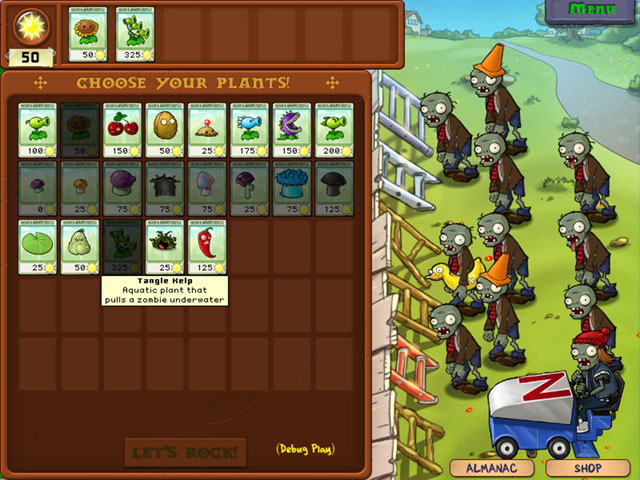 Plants-vs-zombies-plant-choices