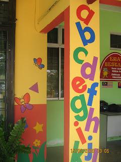 Wall mural home decor tadika play room mural for Mural yang cantik