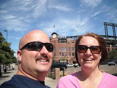 Brian & Karen @ Rockies Stadium