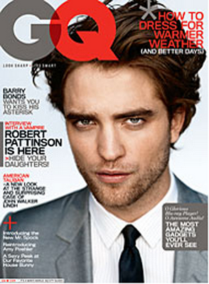 Robert Pattinson GQ MAgazine April