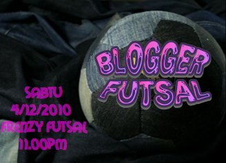 gathering blogger futsal