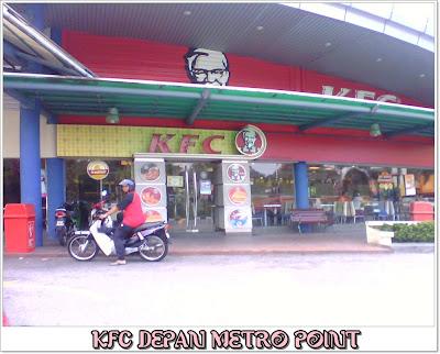 KFC depan Metro Point