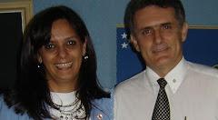 Vânia Bastos e Ronaldo Nacaxe