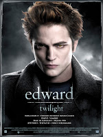 Affiche Twilight France Edward