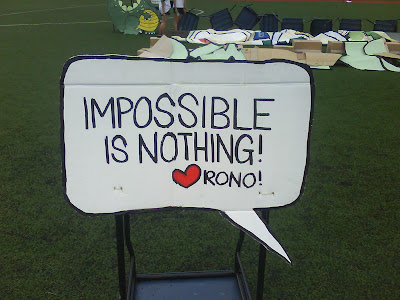 Impossible Is Nothing. Impossible is nothing.