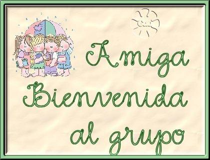 Bienvenid@                                                        Bienvenida231