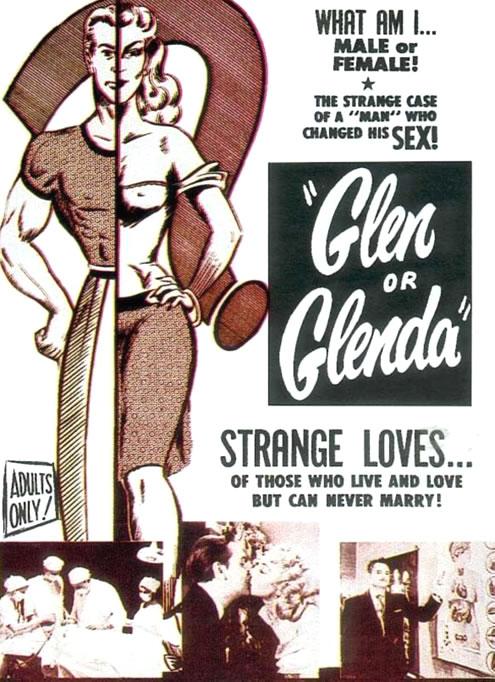 Kl5 film for all your movie needs trailer time glen or glenda 1953