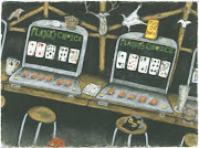 5-CENT POKER & BLACK DOG BEER, 1994