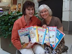 Nancy Sanders and I wrote seven books together for Scholastic! What a blast!
