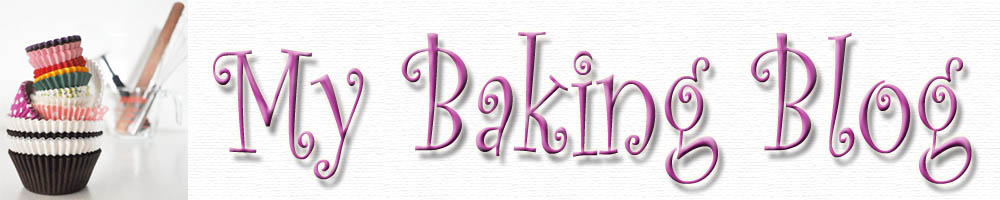 My Baking Blog