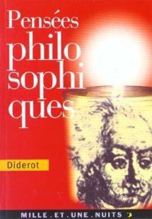 Pensées philosophiques de Diderot