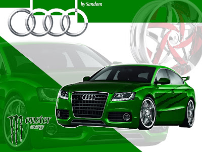audi a5 wallpapers. Wallpaper Audi A5 by Sandom
