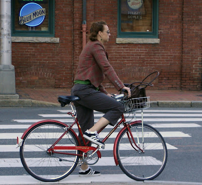 True Boston cyclist