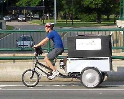 Boston bike delivery service