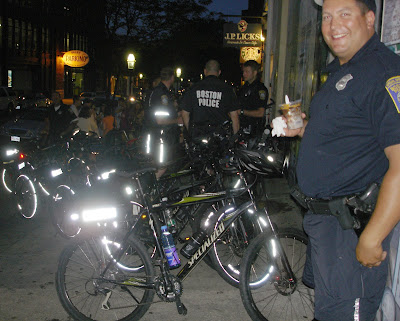Boston bicycle cops