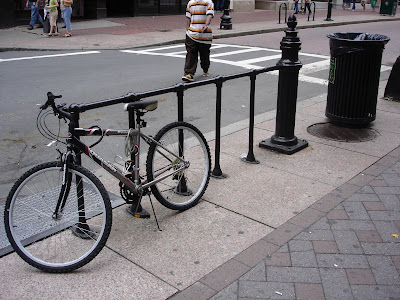 Boston bike parking