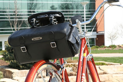 Brooks saddle bag bike