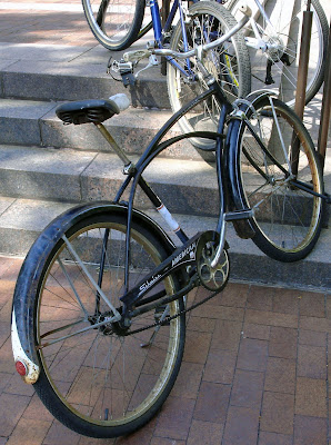 old bike with custom fenders