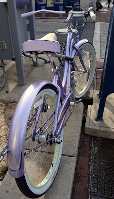 purple cruiser lilac bike bicycle