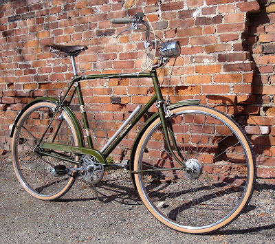 Raleigh Superbe Green