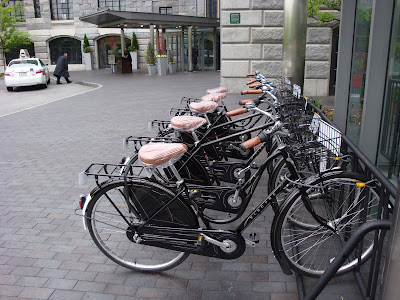 Liberty Hotel Boston bikes