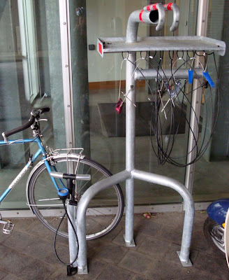 bike bicycle repair station commuter benefit