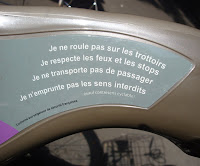 rules for riding a Velib in Paris