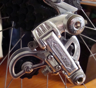Shimano 600 arabesque rear derailleur