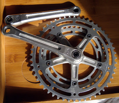 Shimano 600 arabesque cranks crankset